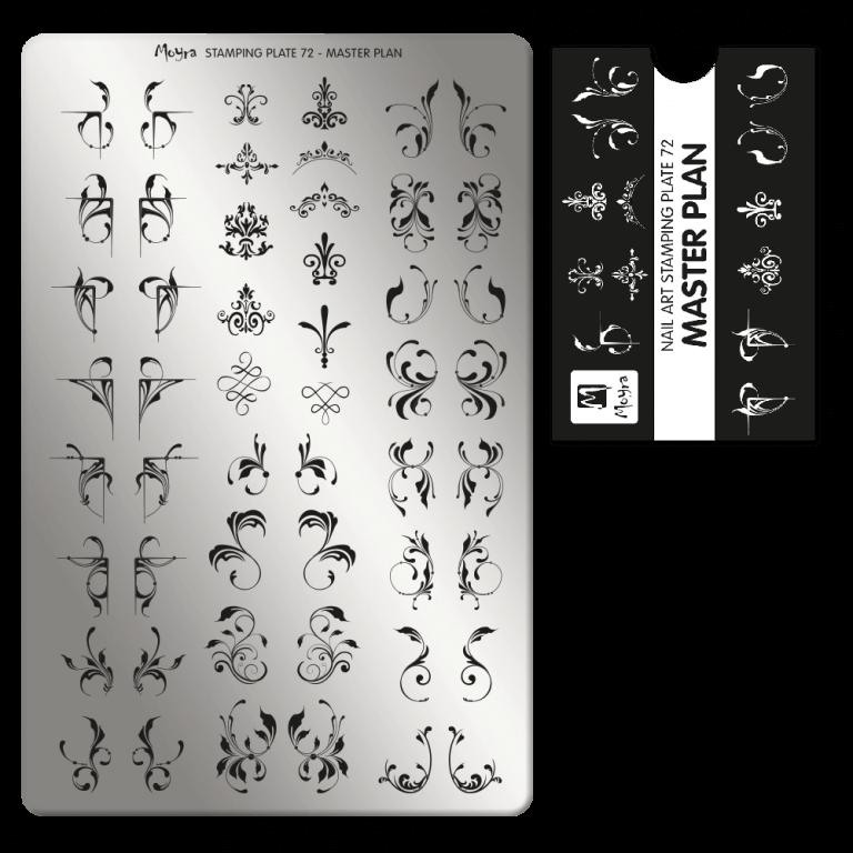 Moyra nagu štancēšanas plāksne 72 Pamatplāns