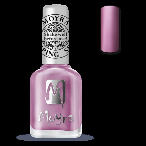 Moyra štancēšanas laka SP 10 metāla roze