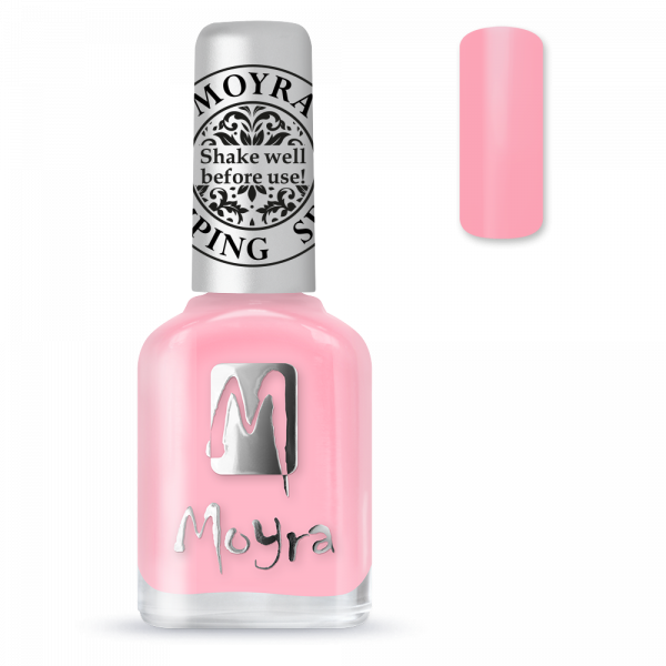 Moyra štancēšanas laka SP 19 gaiši rozā