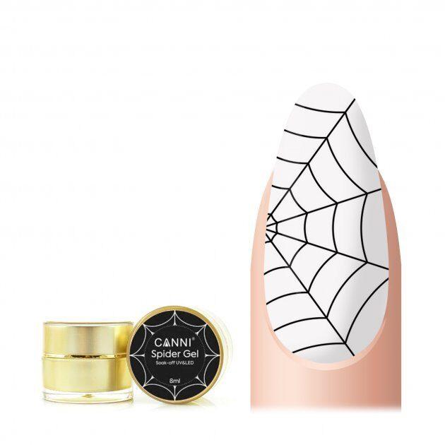 Canni spider gēls 01 melns