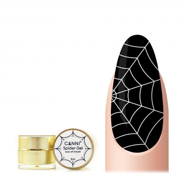 Canni spider gēls 02 balts