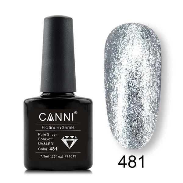 CANNI platinum gēla lakas krāsa 481