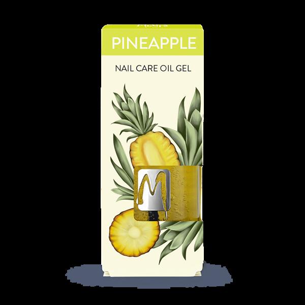 Nagu un ādas kopšanas eļļas želeja ar ananāsu ekstraktu