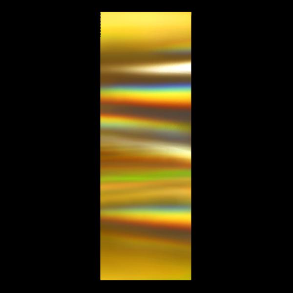 Viegla Moyra folija Nr. 05 Hologrāfiskais zelts