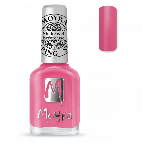 Moyra stamping varnish SP 01 Pink