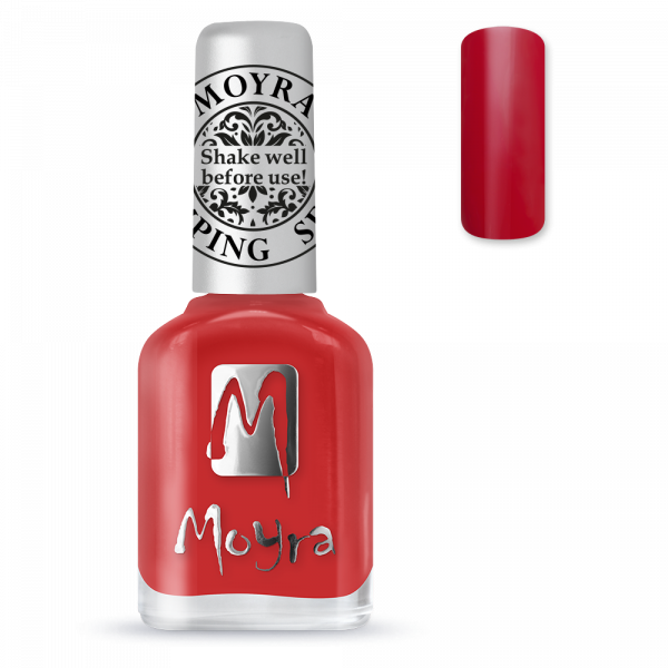 Moyra stamping varnish SP 02 red