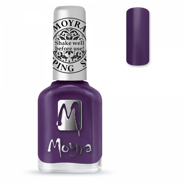 Moyra stamping varnish SP 04 Purple