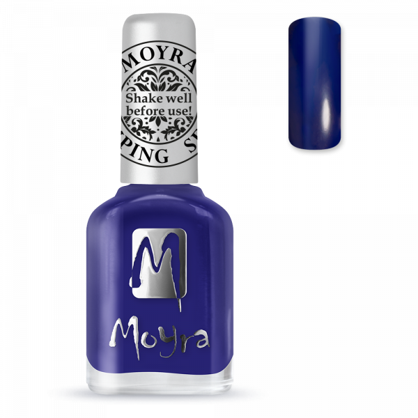 Moyra stamping varnish SP 05 blue