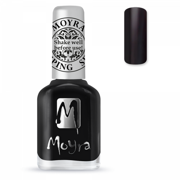 Moyra stamping varnish SP 06 black