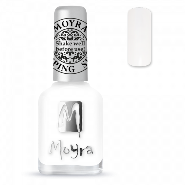 Moyra stamping varnish SP 07 white
