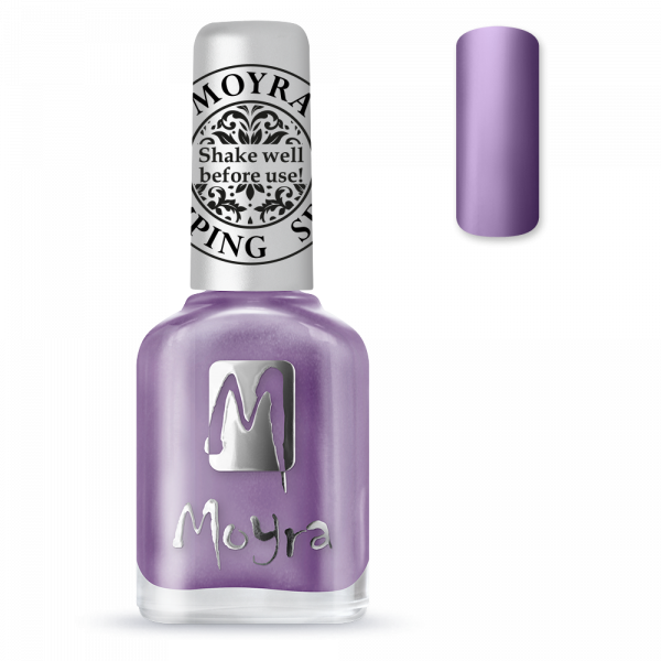 Moyra stamping varnish SP 11 metal purple