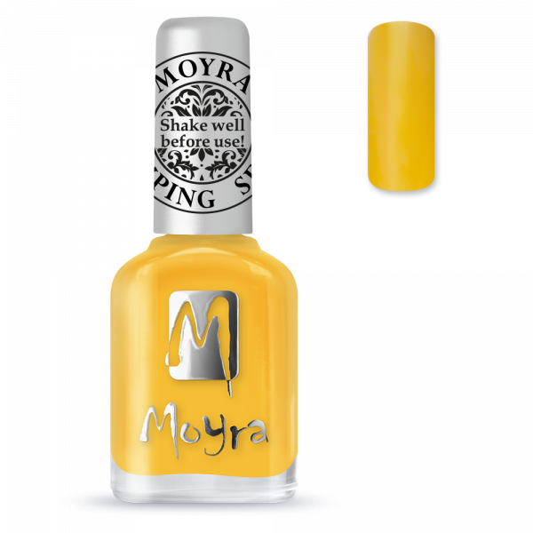 Moyra stamping varnish SP 12 yellow