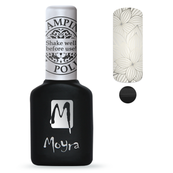 MOYRA foil gel polish BLACK