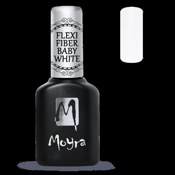 Moyra viegla Flexi Bāze - Fiber Baby White.