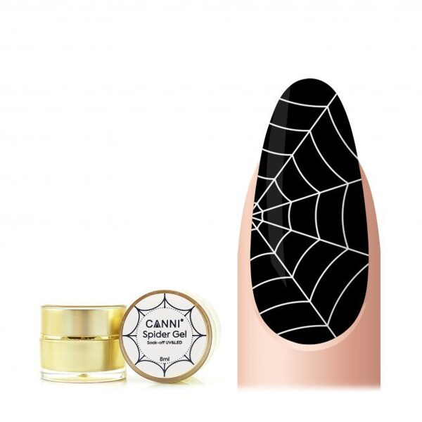 Canni spider gēls 02 balts